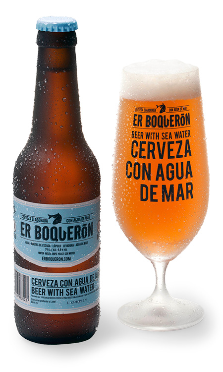 Er Boqueron with glass